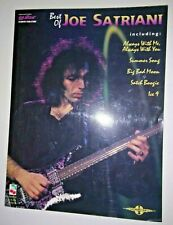 Joe Satriani best of Guitar Tab Book New 1995 free shipping