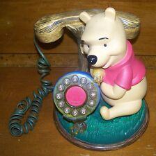 Disney Telemania Winnie The Pooh Desk Corded Home Telephone