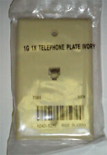 New Ivory Telephone Wall Plate