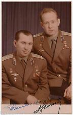 BELYAEV LEONOV Signed Photo PC Autograph Signature Soviet rare