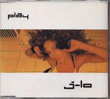 JENNIFER LOPEZ - J-LO - Play - CDs SINGLE 2001 COME NUOVO UNPLAYED 5 TRACKS