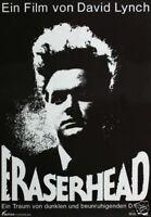 Eraserhead vintage horror movie poster print