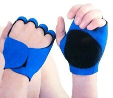 Blue Neoprene Sport Gloves Gym Weight Lifting Fitness Gym Glove Cycling Rowing