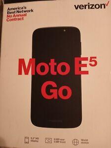Motorola Moto E5 Go - 16GB - Black (Verizon) (Single Sim)