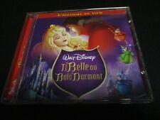 """RARE! CD """"LA BELLE AU BOIS DORMANT - DISNEY"""" raconté par Michele MORGAN"""