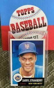 Darryl Strawberry New York Mets Topps Baseball Living Set Card