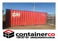 20 FT Shipping Container Storage and Hire