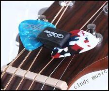 1 Guitar Pick Holder + 2 FREE Guitars Picks NEW