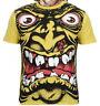 SANTA CRUZ Rob Roskopp Cabeza Amarillo Skate Camiseta Retro 'De los años 80