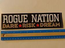 Beer Bumper STICKER: ROGUE Brewing Co Nation ~ Newport, OREGON ~ Dare,Risk,Dream