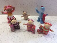 In The Night Garden Full 6 Figures HASBRO bundle birthday
