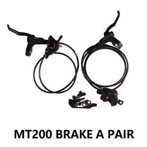 Shimano BL BR MT200 Hydraulic Disc Brake Set MTB Bicycle Brake Front Rear Black