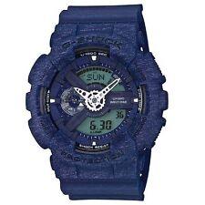 Casio G-Shock Mens Wrist Watch GA110HT-2A GA-110HT-2A Digi-Analog Heather Blue