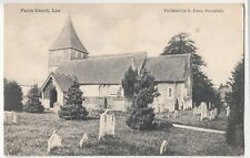 Hampshire; Liss, Parish Church PPC, 1904 East Liss PMK, By A Emm, Local Maker
