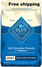 Blue Buffalo Life Protection Formula Natural Adult Dry Dog Food Free shippingUSA