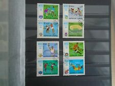 Ajman. Private lot of 1968 Olympics. 4 x Blocks of 2 Stamps. Lovely Selection.