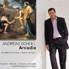 ANDREAS SCHOLL - ARCADIA CD CHOR/ LIED 32 TRACKS NEW+