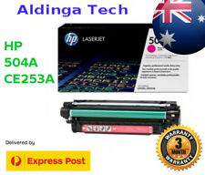 HP 504A LaserJet Toner Cartridge Magenta CE253A for CP3525 CM3530 EXPRESS post