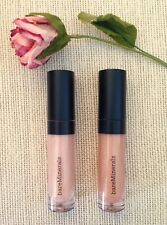 bareMinerals MOXIE PLUMPING LIP GLOSS in VISIONARY & SMARTY PANTS travel sizes!!