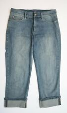 Women's Not Your Daughters Jeans NYDJ Lift Tuck Technology Capri Jeans Size 6