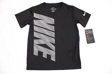 Nike Tee Kids Boys T-Shirt Color Black Size 4T