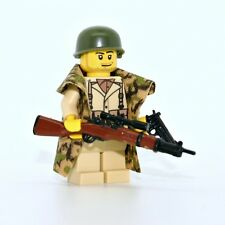 WW2 American Army Soldier Sniper WWII Minifigure made with real LEGO® minifig
