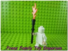 New LEGO Minifig WEAPON Flame Staff Magic Stick Series 13 Evil Wizard Tool
