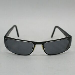 Prada SPR52F Unisex Black Eyeglasses Frames 60-17-135 Made in Italy