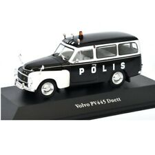 Volvo PV445 Duett Policía police  1:43 coche Atlas Diecast