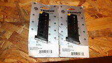 2 - Taurus PT-709 Slim -- factory NEW 7rd - 9mm magazines clips mags     (T104*)