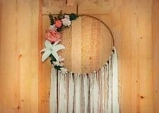 Wedding floral decorations,Floral dreamcatcher