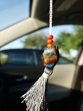 AGATE Rear View MIRROR HANGING Ornament Accessories Car Pendant Decoration