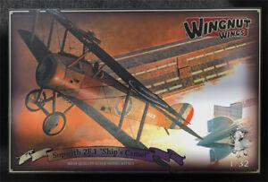 """Wingnut Wings - Sopwith 2F.1 """"Ship's Camel"""" NEW"""