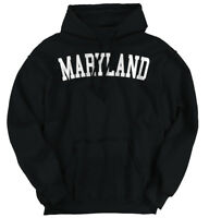 Maryland Athletic Student Gym Vacation MD Hoodies Sweat Shirts Sweatshirts