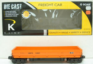 K-Line K712-1031 Amtrak Operating Dump Car NIB