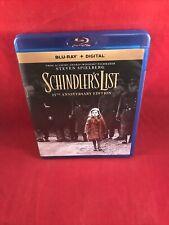 Schindler's List: 25th Anniversary Edition Blu-ray *Very Good!*