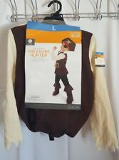 Child's Youth Pirate Costume with accessories NEW