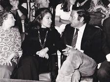 Maria Callas Raf Vallone Cirque d'hiver 1971 Tirage argentique postérieur 1980