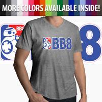 BB-8 NBA Parody Star Wars Jedi Droid Basketball Mens Women Unisex Tee T-Shirt