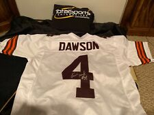 Kevin Mack Signed Dawson Custom Xl Cleveland Browns Jersey Read Description