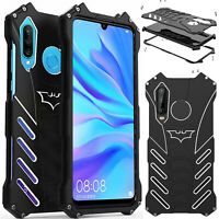 For HuaweiP30 20 Mate20  R-JUST Batman Metal Armor Case Hybrid Bumper Cover New
