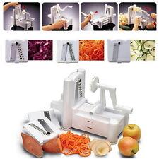 Spiral Vegetable Slicer Spiralizer Pasta Maker Fruit Chopper Shredder Chipper