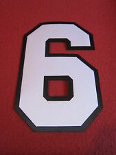 Baseball Jersey Numbers twill- 2 color Custom