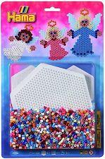 HAMA Bügelperlen Box bunt+3 Platten 16.000 Stück selbst gestaltete Bilder NEU Basteln & Kreativität