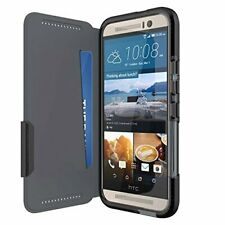 NEW Shockproof Wallet Case by Tech21 Evo Wallet for HTC One M9 - BLACK