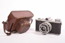 Leidox by Leidolf Wetzlar, with Triplet f/3.8 - 50mm lens and original case.