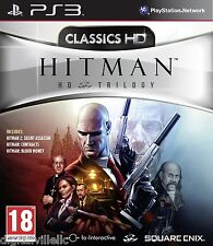 Hitman HD Trilogy PS3 Sony PlayStation 3 Contracts 2 Silent Assassin Blood Money