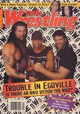 Inside Wrestling February 1997 Bret Hart, nWo VG 050616DBE