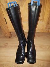 PAUL GREEN LEDER Stiefel Damenstiefel Schuhe Gr.5,5 (38) schwarz