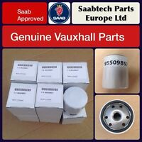 12 x Genuine Vauxhall Oil Filter Bulk Trade Deal - 95509857